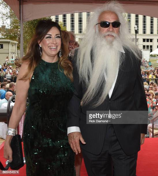 Simone De Staley and singersongwriter William Lee Golden of The Oak Ridge Boys attend the Medallion Ceremony to celebrate 2017 hall of fame inductees...