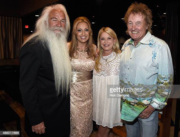 Simone De Staley William Lee Golden and guests during The Oak Ridge Boys' William Lee Golden Weds Simone De Staley on August 29 2015 at The Rosewall...