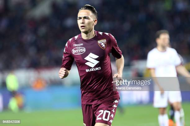 Simone Edera of Torino FC during the Serie A football match between Torino Fc and Ac Milan The match end in a tie 11