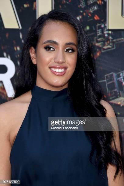 Simone Garcia Johnson attends the 'Skyscraper' New York Premiere at AMC Loews Lincoln Square on July 10 2018 in New York City