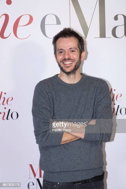 Simone Godano attends a photocall for 'Moglie E Marito'
