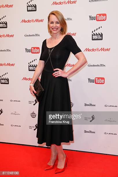 Simone Hanselmann attends the 99FireFilmAward 2016 at Admiralspalast on February 18 2016 in Berlin Germany