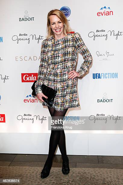 Simone Hanselmann attends the 'Berlin Opening Night Of Gala Ufa Fiction on February 05 2015 in Berlin Germany