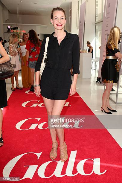 Simone Hanselmann attends the 'Gala' fashion brunch during the MercedesBenz Fashion Week Berlin Spring/Summer 2017 at Ellington Hotel on July 1 2016...
