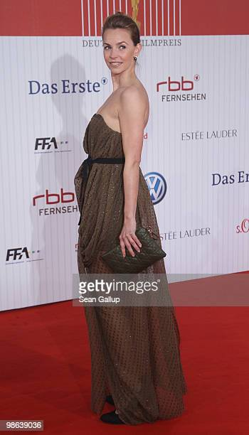 Simone Hanselmann attends the German film award at Friedrichstadtpalast on April 23, 2010 in Berlin, Germany.