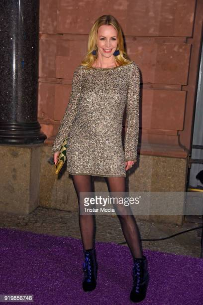 Simone Hanselmann attends the PLACE TO B Party on February 17 2018 in Berlin Germany