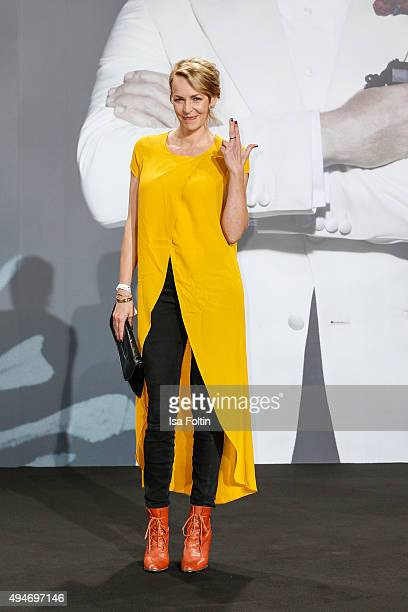 Simone Hanselmann attends the 'Spectre' German Premiere on October 28 2015 in Berlin Germany