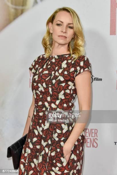 Simone Hanselmann during the premiere of 'Whatever happens' at Astor Film Lounge on November 21, 2017 in Berlin, Germany.