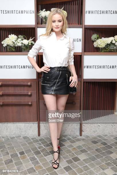 Simone Holtznagel attends the Witchery x OCRF White Shirt Campaign Launch on April 4 2018 in Sydney Australia