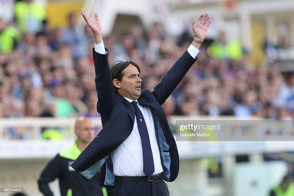 ACF Fiorentina v SS Lazio - Serie A : Foto di attualità