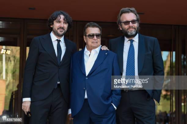 Simone Isola Vittorio Cecchi Gori Marco Spagnoli at Rome Film Fest 2019 Rome October 26th 2019