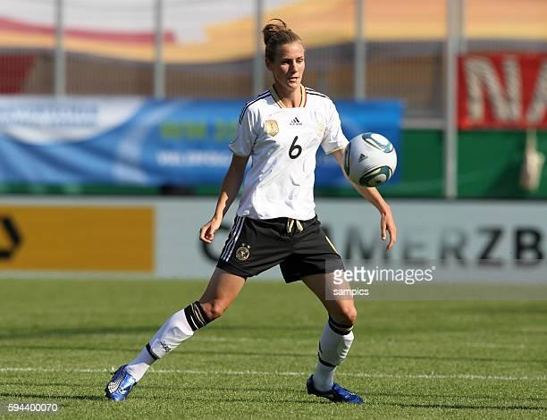 Simone Laudehr Frauenfussball Länderspiel Deutschland Nordkorea Korea DVR 20 am 21 5 2011