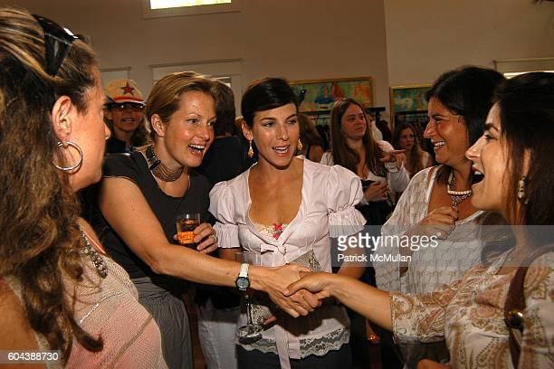 Simone Levinson Ali Wentworth Jessica Seinfeld Anne Tenenbaum and Rebecca Sklar attend DOLCE GABBANA Benefit Luncheon hosted by Jessica Seinfeld...