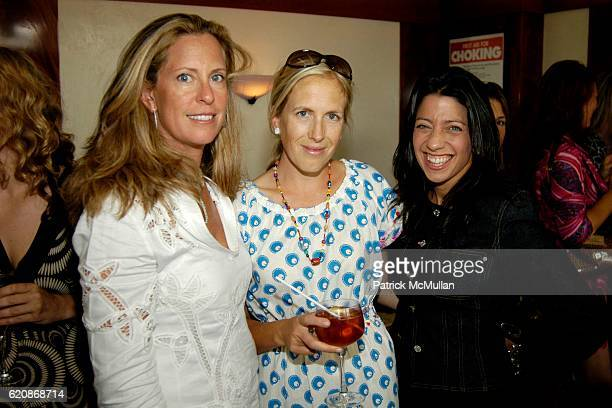 Simone Levinson Kate Pickett Davis and Lisa Anastos attend Rodial Skincare's Maria Hatzistefanis hosts a luncheon to benefit Five Alive at Saint...