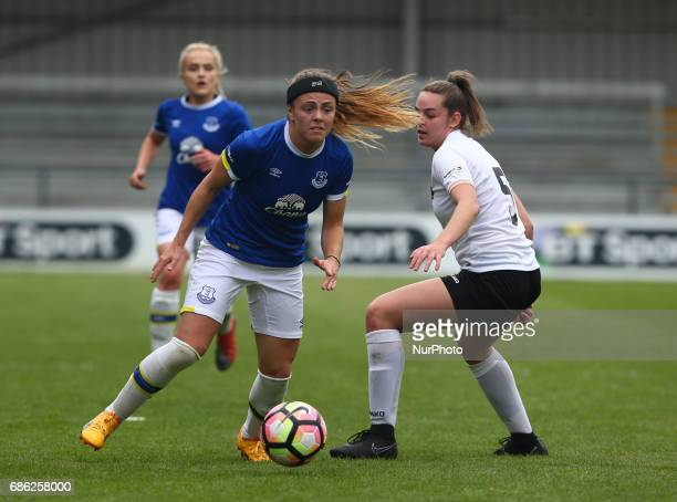 Simone Magill of Everton Ladies during Women's Super League 2 Spring Series match between London Bees against Everton Ladies at The Hive Barnet FC on...