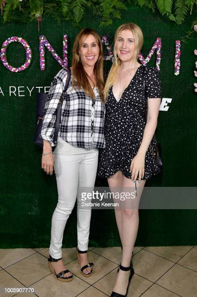 Simone Marcus and Emily Marcus attend Adina Reyter Friendship Bracelet Launch at Soho House on July 26 2018 in West Hollywood California