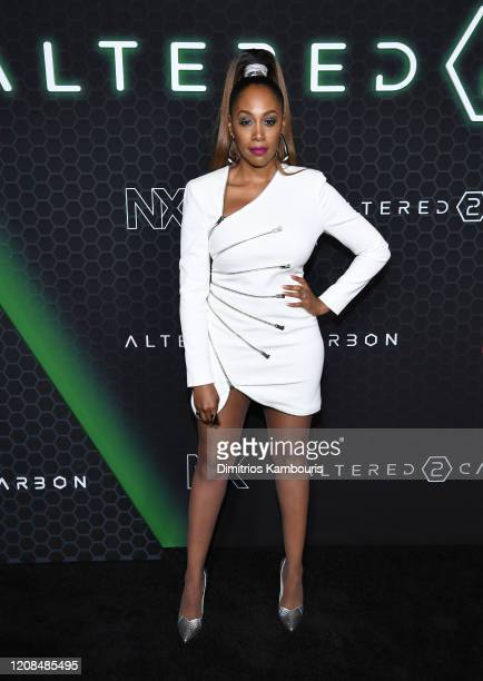 Simone Missick attends Netflix's Altered Carbon Season 2 Photo Call at AMC Lincoln Square Theater on February 24 2020 in New York City