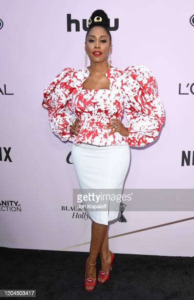 Simone Missick attends the 13th Annual Essence Black Women In Hollywood Awards Luncheon at the Beverly Wilshire Four Seasons Hotel on February 06...
