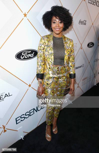 Simone Missick attends the 2018 Essence Black Women In Hollywood Oscars Luncheon at Regent Beverly Wilshire Hotel on March 1 2018 in Beverly Hills...