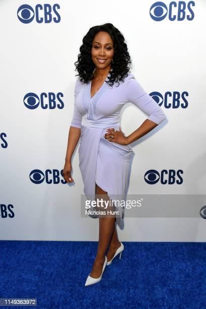 Simone Missick attends the 2019 CBS Upfront at The Plaza on May 15 2019 in New York City