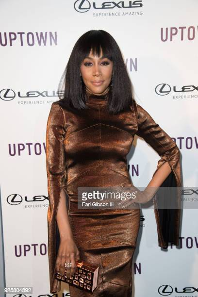 Simone Missick attends Uptown Honors Hollywood PreOscar Gala on February 28 2018 in Los Angeles California