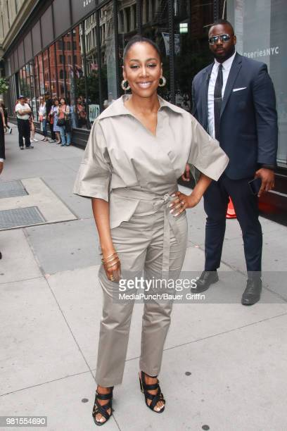 Simone Missick is seen on June 22 2018 in New York City