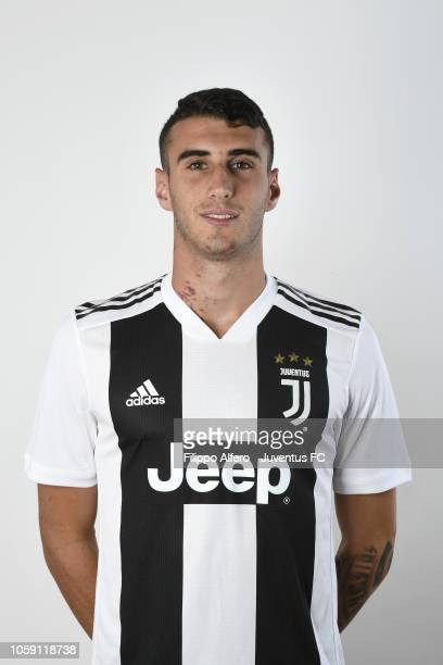 Simone Muratore during Juventus U23 Headshots at Juventus Center Vinovo on August 31 2018 in Vinovo Italy