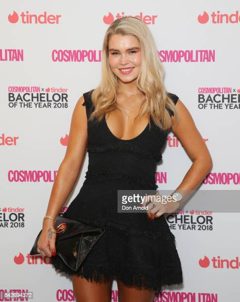 Simone Ormesher attends the Cosmopolitan Tinder Bachelor Of The Year 2018 PreGame Lunch on September 5 2017 in Sydney Australia
