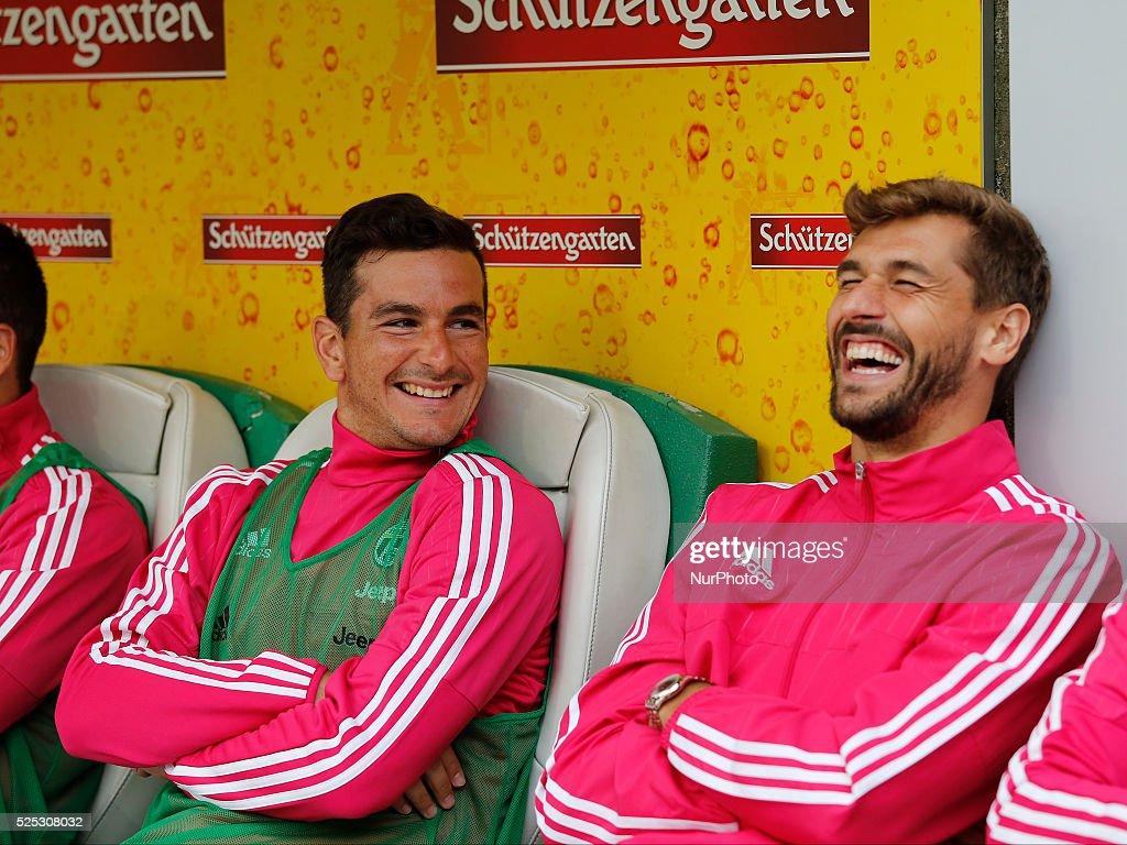 Switzerland: Friendly Match, Juventus FC vs Borussia Dortmund ----- : News Photo