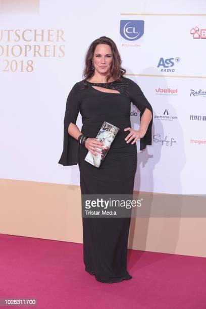 Simone Panteleit attends the Deutscher Radiopreis at Schuppen 52 on September 6 2018 in Hamburg Germany