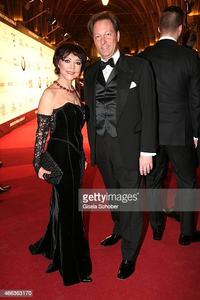 Simone Rethel and Thorsten Groneberg during the Filmball Vienna 2015 on March 14 2015 in Vienna Austria