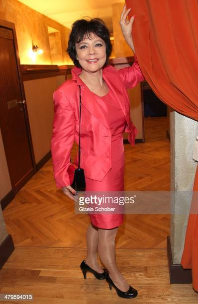Simone Rethel attends the NDF After Work Presse Cocktail at Parkcafe on March 19 2014 in Munich Germany