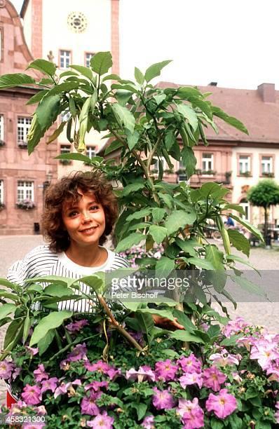 Simone Rethel vor Theaterstück Wie es Euch gefällt am bei Schloßfestspielen von Ettlingen Deutschland