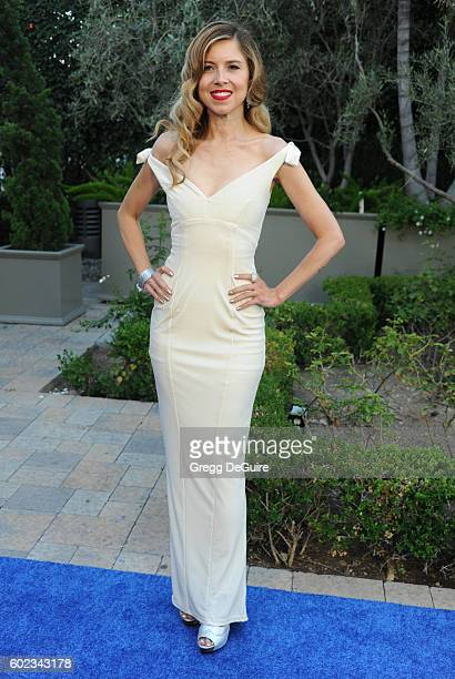 Simone Reyes arrives at Mercy For Animals Hidden Heroes Gala 2016 at Vibiana on September 10, 2016 in Los Angeles, California.