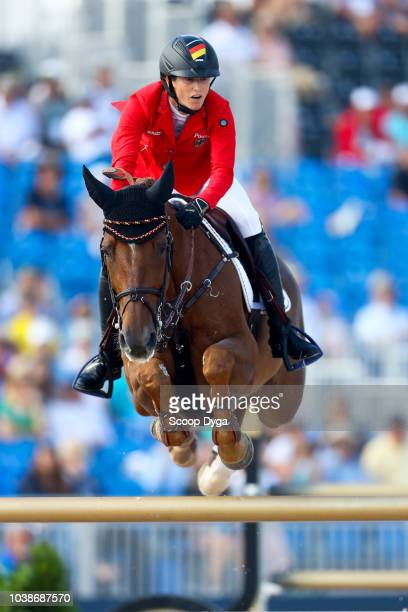 STERNLICHT Adrienne riding Cristalline during the FEI World Equestrian Games 2018 on September 23 2018 in Tryon United States of America