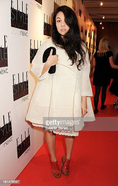 Simone Rocha arrives at the Elle Style Awards at The Savoy Hotel on February 11 2013 in London England