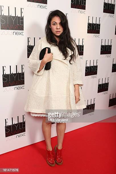 Simone Rocha attends the Elle Style Awards 2013 at The Savoy Hotel on February 11 2013 in London England