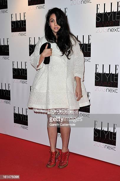 Simone Rocha attends the Elle Style Awards at The Savoy Hotel on February 11 2013 in London England