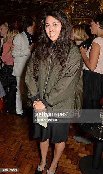 Simone Rocha attends 'The Gentlewoman' issue launch party at the Oscar Wilde Bar at The Club at Hotel Cafe Royal on September 9 2014 in London England