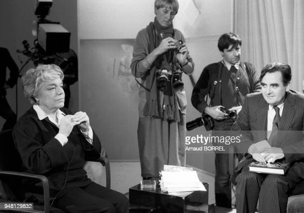 Simone Signoret Bernard Pivot