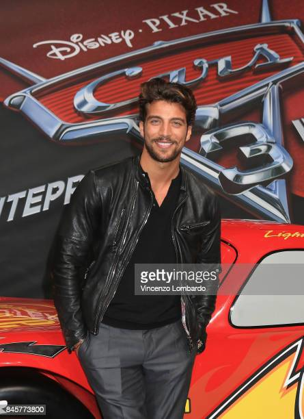 Simone Susinna attends Cars 3 photocall in Milan on September 11 2017 in Milan Italy