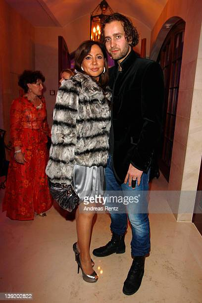 Simone Thomalla and partner Silvio Heinevetter attend the Tele 5 Director's Cut during the 62nd Berlinale International Film Festival at Adlon Hotel...