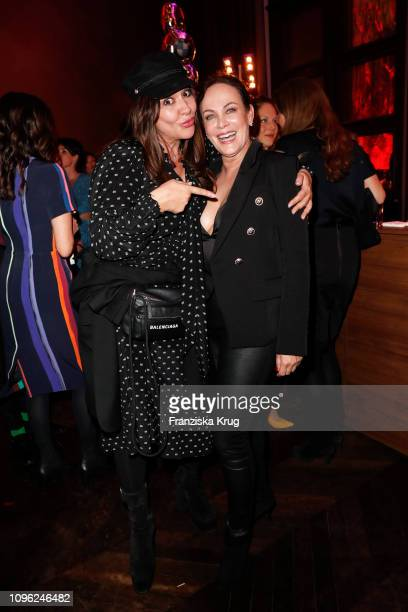 Simone Thomalla and Sonja Kirchberger during the BUNTE BMW Festival Night at Restaurant Gendarmerie on February 8 2019 in Berlin Germany