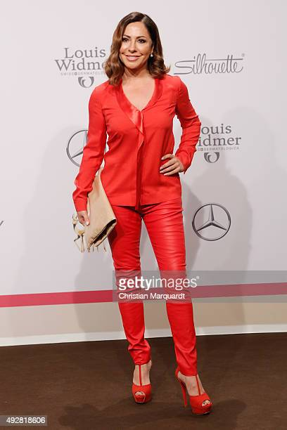 Simone Thomalla arrives for the Tribute to Bambi 2015 at Station on October 15 2015 in Berlin Germany