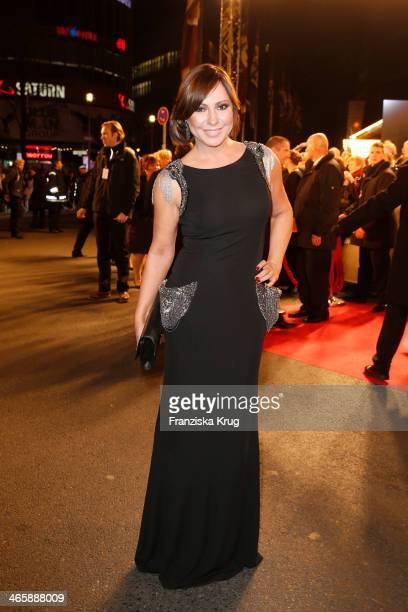 Simone Thomalla attends the Bambi Awards 2013 at Stage Theater on November 14, 2013 in Berlin, Germany.