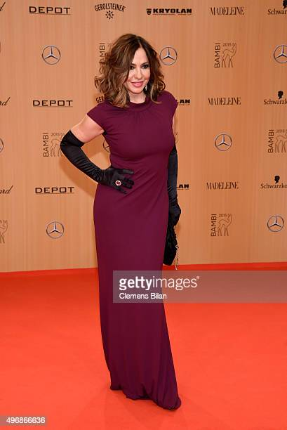 Simone Thomalla attends the Bambi Awards 2015 at Stage Theater on November 12 2015 in Berlin Germany