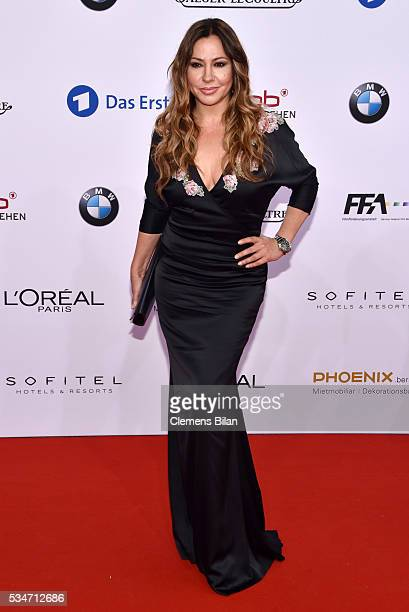 Simone Thomalla attends the Lola German Film Award on May 27 2016 in Berlin Germany