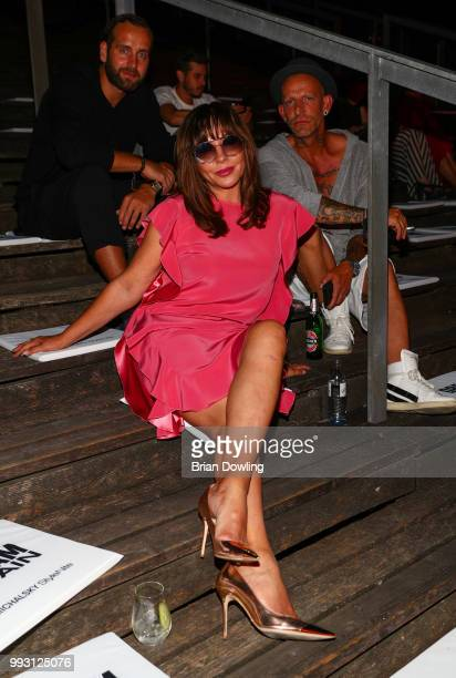 Simone Thomalla attends the Michalsky StyleNite during the Berlin Fashion Week Spring/Summer 2019 at Tempodrom on July 6 2018 in Berlin Germany