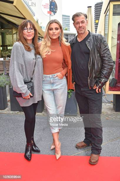 Simone Thomalla Sophia Thomalla and Sven Martinek during the premiere of 'Phantomschmerz' at Zoo Palast on September 2 2018 in Berlin Germany