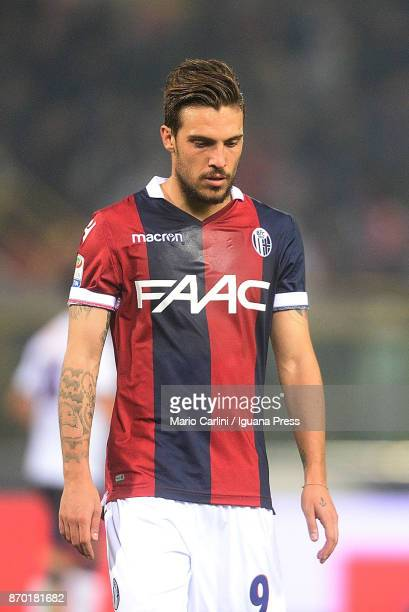 Simone Verdi of Bologna FC looks dejected at the end of the Serie A match between Bologna FC and FC Crotone at Stadio Renato Dall'Ara on November 4...